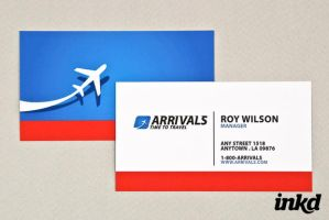 Sophisticated Travel Agency by inkddesign