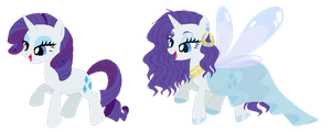 Rarity - Redesign by RosePinkArts