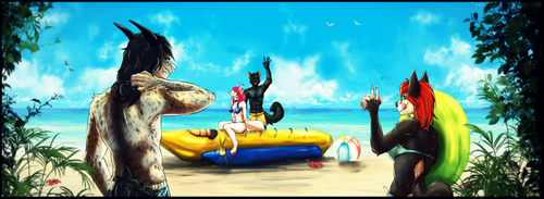 End ych #18 - Beach by Dagernice