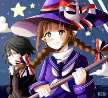 Wadanohara and the Great Blue Sea by Nataly2