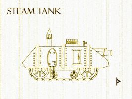 Steam Tank for Ardicius by GolanArms