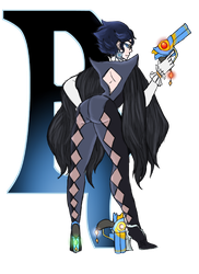 Alphabet Challenge: B for Bayonetta by aura102