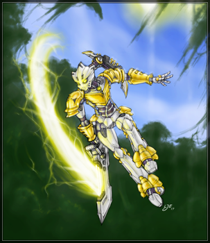 Eltanin, Toa of Light (2017) by Llortor