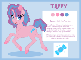 Ref - Taffy by PeridotKitty