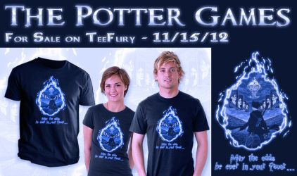 The Potter Games on TeeFury by JRTribe