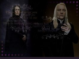 Severus and Lucius by Vergezzen