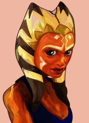 Portrait : Ahsoka Tano by chocolateRylee