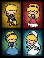 Cinderella's Costumes by cippow25