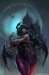 Morrigan by cutesexyrobutts