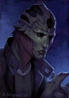Painting Exercise: Thane by alexstoneart