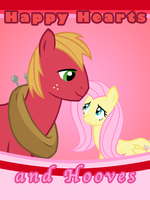 Hearts and Hooves: Fluttermac by LudiculousPegasus