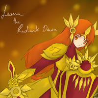 League of Legends: Leona the Radiant Dawn by TheMuteMagician