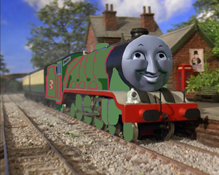 Tv Series Henry The Express Engine by Thenewmikefan21