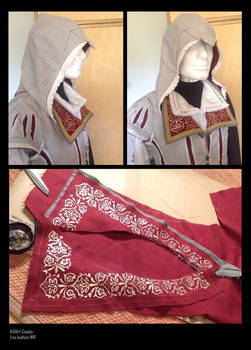 Ezio Auditore Cosplay WIP4 /Assassins Creed 2 by KADArt-Cosplay
