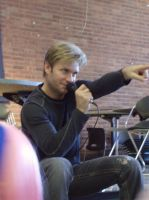 Vic Mignogna at Noobiecon '11 by Fatala