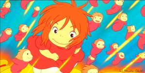 Together - Ponyo Wallpaper by sirdaftodill