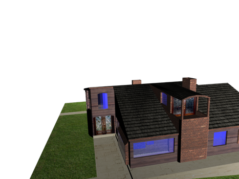 House model by thecoldembrace