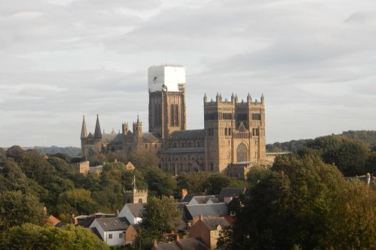 View of Durham from the LNER by rlkitterman