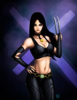 Weapon X: Laura Kinney a.k.a X-23 REMAKE by Bathiel