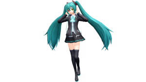 Project Diva X Silent Voice Miku by Luke-Flame