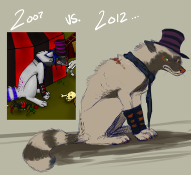 2007 vs 2012 by Eilavue