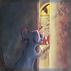 Squeak (day 26) by Whobleyh