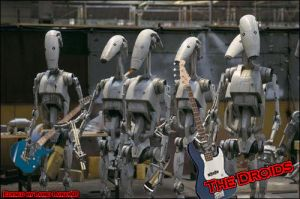 The Droids by Mr-Page