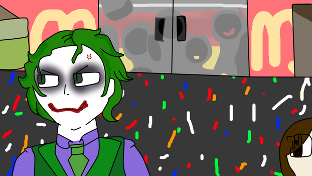 Can't You Just Leave A Clown Alone? by Kaymilton