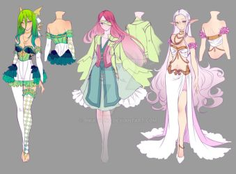 0 - Drawing contest - 1st Place Prize - Designs by rika-dono