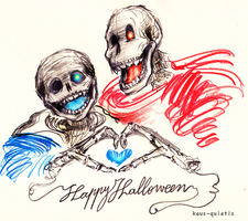 [1] Spooky scary skeletons!! by kaus-quietis