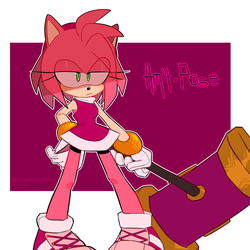 Amy Rose by Mangaanonymous