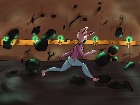 Just RUN-[Commission] by HeyImAmethyst