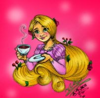Tangled Tea Time by WickedGhoul