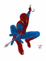 Amazing Spider-man Comic Style by IronWarrior777