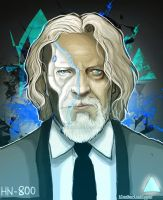Android Hank Anderson by RatTheRipper