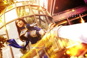 Garen Cosplay (Genderbent) - League of Legends by QTxPie