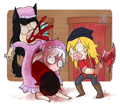 Little Red Riding Hood by Wowza-Wowzers