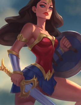 Wonder Woman by Lagunaya
