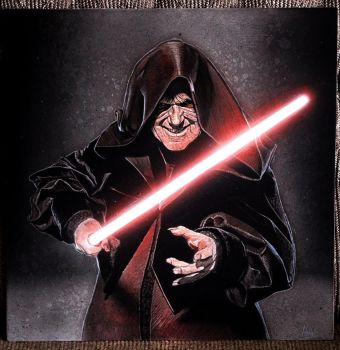 Darth Sidious Star Wars by ArthurNebesskiy