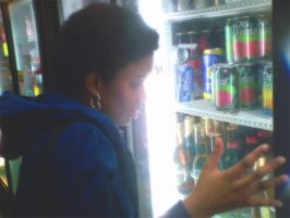 Christine at the Bodega by ithasnosoul