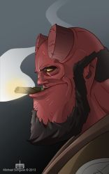 Hellboy by MichaelSchauss
