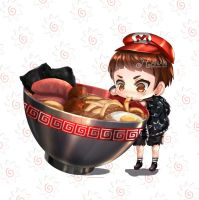 JIN IN CHIBI STYLE ^_^ by blue-merry-04