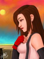 Tifa The Fighter Version 2.0 by CosmicFox11