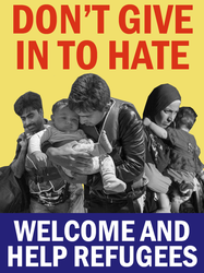 Refugees Welcome by Party9999999