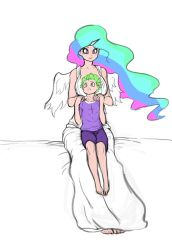 with celestia by franschesco