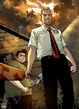 Shaun Of The Dead by D-Strada