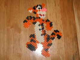 Tigger perler by MR16Bits