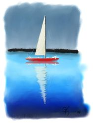 Reflective Boating by Wellmont