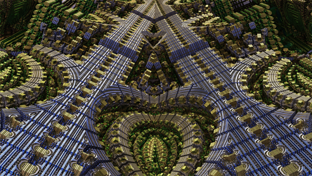 Mandelbulb3D Merge like a zip by 1Bryan1