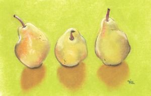 3 pears by classina
